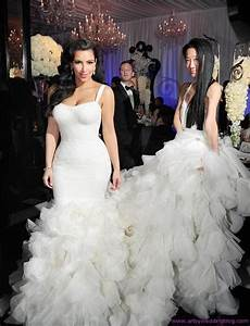 top celebrity wedding dresses paperblog With celebrity wedding dress