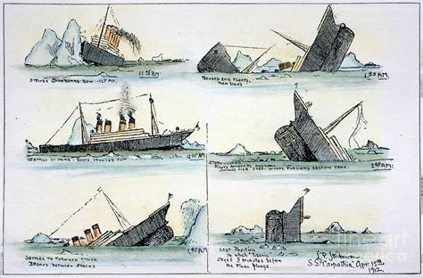 what year did the titanic sink sinking of the titanic photograph by granger