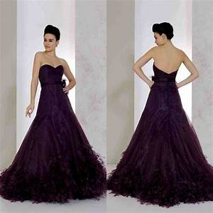 dark purple wedding dress wedding and bridal inspiration With dark purple dresses for weddings