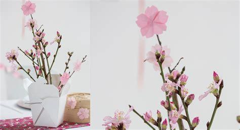 decorer sa cuisine soi meme origami facile une fleur de cerisier prima