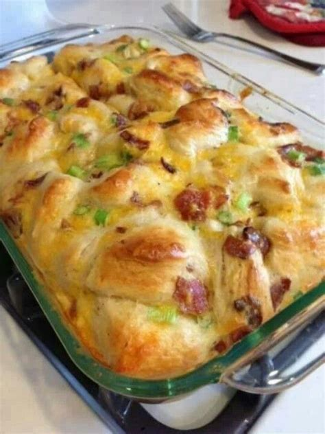 breakfast bake recipe biscuit breakfast bake breakfast yum pinterest