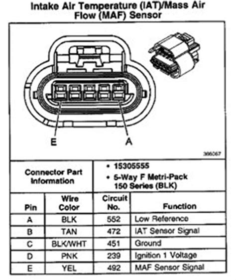2011 Gmc Maf Iat Wiring Diagram by Solved Chev 01 6ltr 3500 I Need The Iat Sensor Wiring Fixya