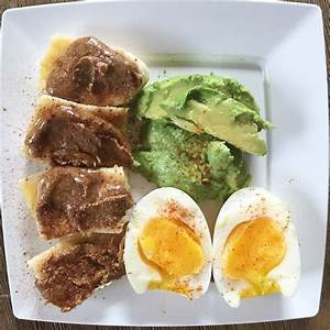 D3m1  Pre 2 Banana With Almond Butter And Cinnamon  Soft Boiled Egg  U0026 1  2