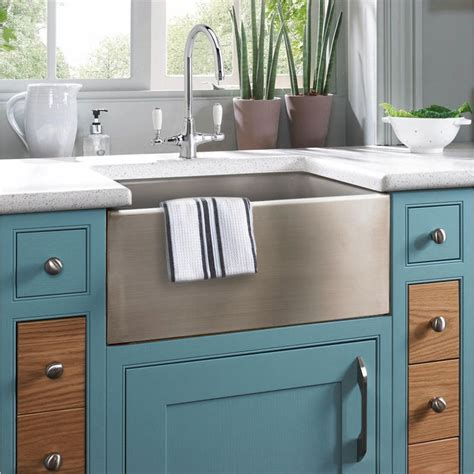 kitchens with belfast sinks astini belfast 600 1 0 bowl brushed stainless steel 6601