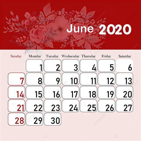 month calendar  june template     pngtree