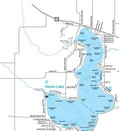 Michigan Irish Hills Lakes Map
