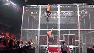John Cena vs Randy Orton - Gauntlet Match Hell in a Cell ...