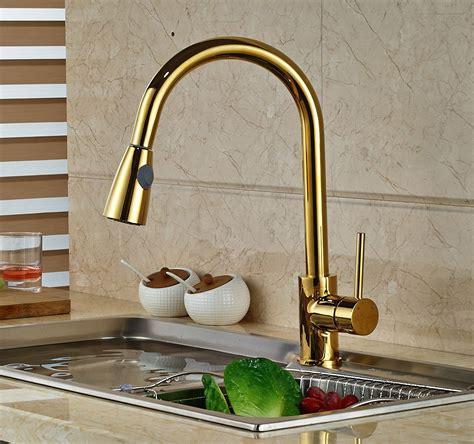 gold kitchen sink faucet manaus deck mounted gold finish kitchen sink faucet