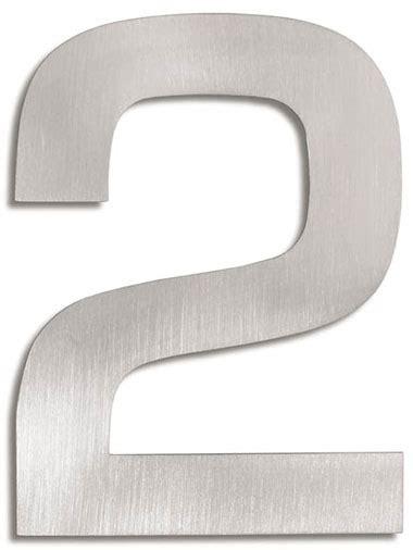 House Number Signs: Modern House Numbers   2: NOVA68.com