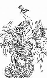 Peacock Coloring Abstract Printable Peacocks Illustration Adults Simple Drawing Cool Adult Sheets Sheet Mandala Kidsplaycolor Step Animal Tree Getdrawings Ready sketch template