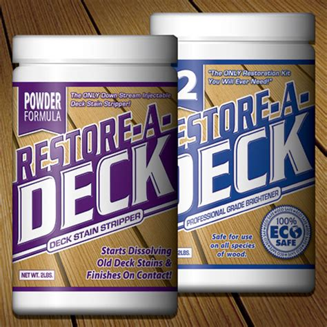 Behr Deck Cleaner And Brightener Directions by Restore A Deck Cleaner