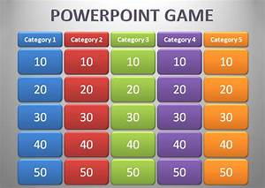 powerpoint game template 17 free ppt pptx potx With jeopardy online game template