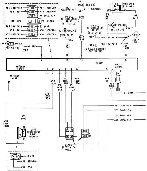 2003 jeep wrangler radio wiring diagram wiring library