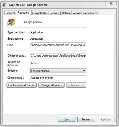 comment mettre une icone sur le bureau créer un raccourci pour lancer les applications chrome