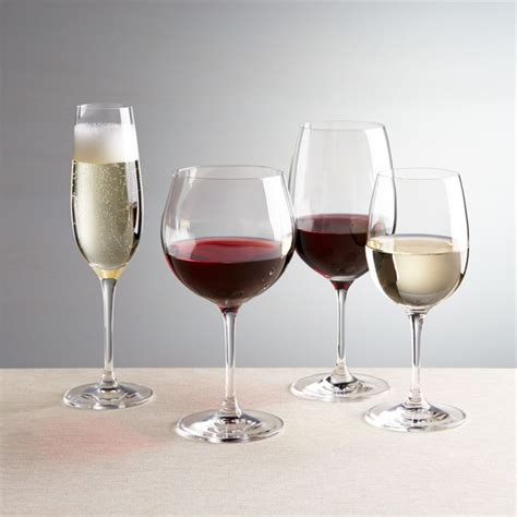 viv quality wine glasses crate  barrel