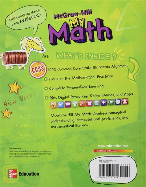 Mcgraw Hill Math Workbook Grade 5  Mcgraw Hill Math Grade 5 Power Up Your Skills 053250