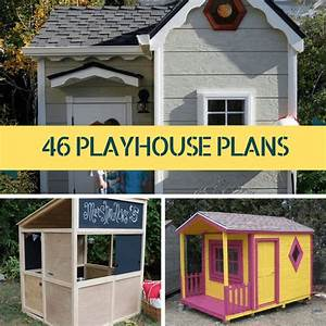 The gallery for --> Playhouse Plans With Slide
