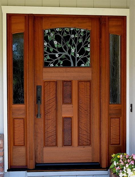 The Dogwood Entry  Traditional  Front Doors San