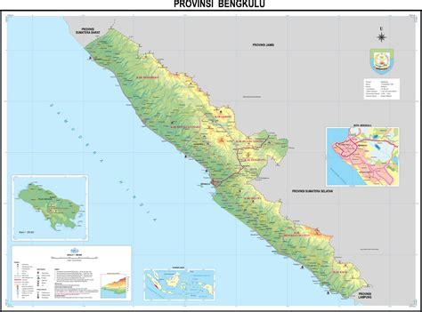peta provinsi bengkulu