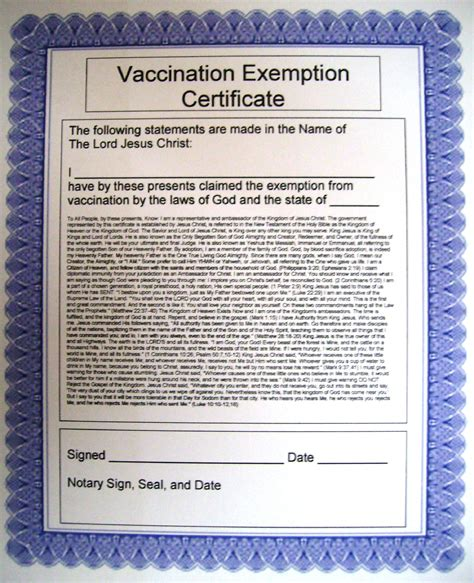 Illinois Religious Exemption Form by Messiahmews Blogs Vaccine Exemptions Letters And Forms