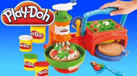 pate a modeler cuisine toys pâte à modeler la pizzeria play doh en français