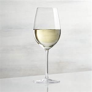 Vineyard 12 oz White Wine Glass Crate and Barrel