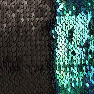 40X40cm Mermaid Magical Color Change Fashion Fabrics