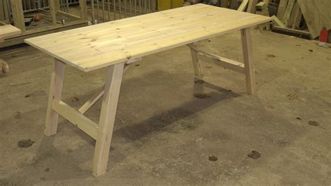 kitchen cart and island redwood trestle table the wooden workshop oakford