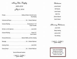 birthday program template business birthday program With templates for church programs