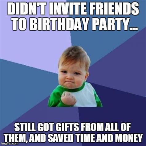 Kids Birthday Meme - success kid birthday advice imgflip