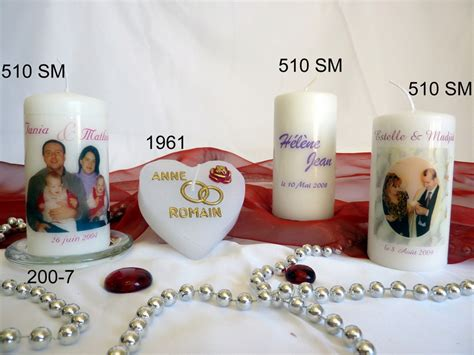bougie personnalisee anniversaire mariage bougie anniversaire de mariage personnalis 233 e bougies bach