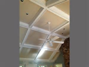 Vaulted Coffered Ceiling