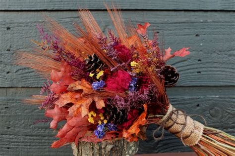 4 Fall Wedding Bouquet Ideas Cardinal Bridal