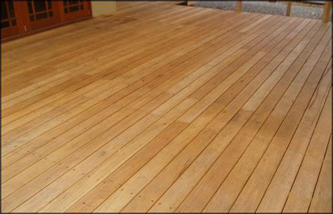 Treated Pine Decking Stain