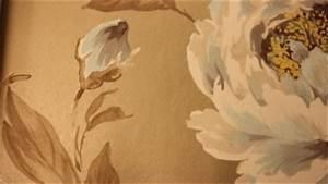 Papier Peint Grosses Fleurs : vive le papier peint ~ Dode.kayakingforconservation.com Idées de Décoration