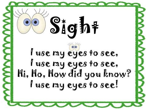 160 best images about 5 senses on 5 | 46c1b36ae41e919b3eceecc94a696a2f sense of sight activities preschool five senses preschool