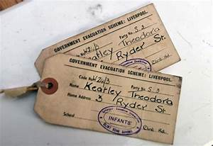 world war ii tags found in caernarfon shop spark search With evacuee tag template