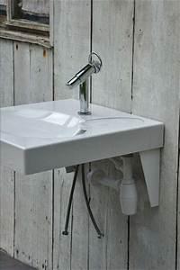 Brancher Une Machine à Laver : lavabo gain de place sur machine laver ~ Melissatoandfro.com Idées de Décoration