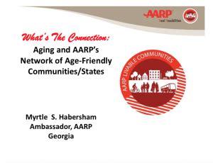 planning aging communities georgia planning association