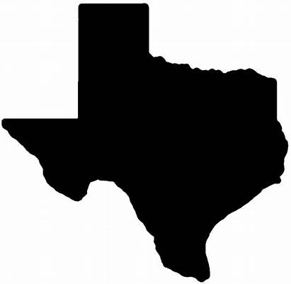 Texas Shape State Outline Clipart Clipartbest