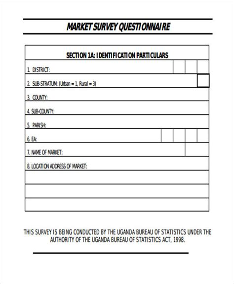 survey forms   excel ms word