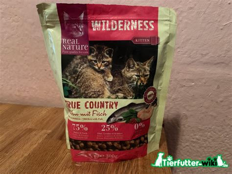 real nature wilderness kitten trockenfutter im test