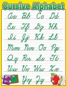 best 25 cursive letters chart ideas on pinterest With show alphabet letters