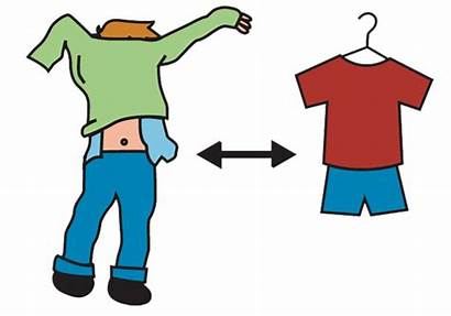 Clipart Clothes Change Changing Clothing Tools Clip