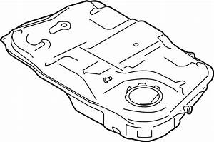 Ford Fusion Fuel Tank  Dohc  Liter