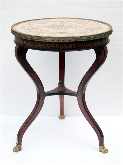 vintage ceramic table ls european style antique porcelain and wood console table