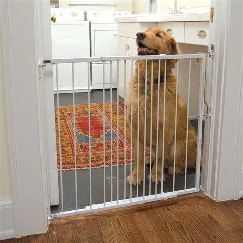 door gates for dogs cardinal gates white duragate pet gate petco