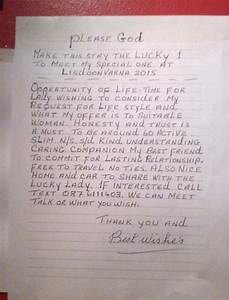 lonely heart pens anonymous love letter to find his With love letters to buy