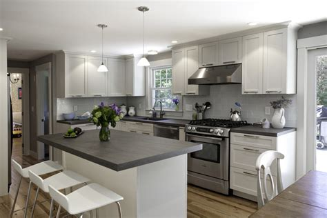 grey kitchen cabinets with black countertops mod cabinetry launches the platform to design 8359