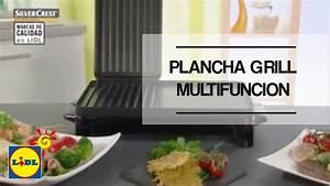 Rauchfreier Grill Lidl : plancha grill multifunci n lidl espa a youtube ~ Jslefanu.com Haus und Dekorationen